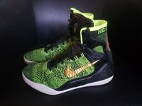 Nike Kobe 9 Elite High Victory Mens size 10 Green Basketball shoes