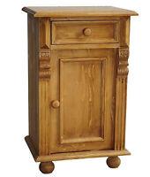 Nachttisch Nachtschrank Kommode Beistelltisch Massivholz Gründerzeit Antik Stil