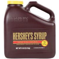 HERSHEY'S Chocolate Syrup Jug 7.5 lbs or 8 lbs (choose flavor below)