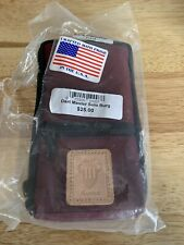 New listing Dart Master Solo Case Brand New Old Stock In Bag.  Burgundy Color