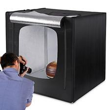 "Amzdeal Photo Studio 32""x32"" / 80 * 80cm Portable Light Box Shot tent with 2pcs"