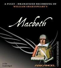 Arkangel Complete Shakespeare Macbeth William Shakespeare 2003, 2 CDs Dramatized