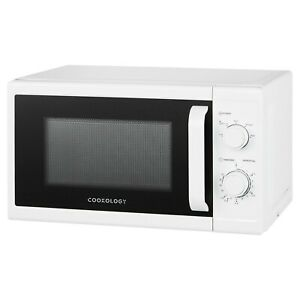 Cookology CMAFS20LWH 20L White Microwave, 800W Freestanding