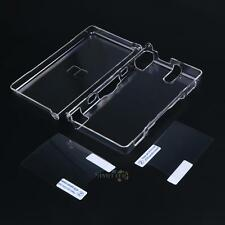 Hard Clear Crystal Case Cover Skin Shell for Nintendo DSL NDS Lite NDSL w/ Film