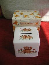 MASONS 'TEDDY BEARS' MONEY BOX - NEW & BOXED
