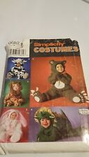 Simplicity 0682, Size A (1/2, 1,2,3,4) - Costume Pattern, Cute Variety