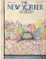 1979 New Yorker January 15 - Fat Black Cat