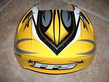 OGK FF5 Scream Helmet Diffuser Yellow