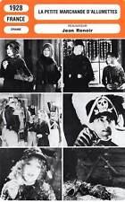 FICHE CINEMA : LA PETITE MARCHANDE D'ALLUMETTES - Hessling,Barclay,Renoir 1928