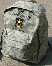 back to school army strong backpack pack digital ACU