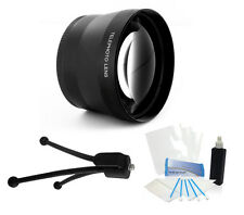 72mm HD 2.0X Converter Telephoto Lens for Canon EF-S 18-200mm f/3.5-5.6 IS