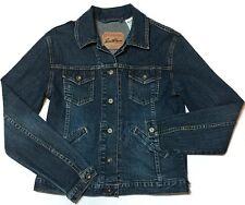 LEVI STRAUSS Jean Trucker Jacket Small 4/6 Stretch Signature Blue Denim
