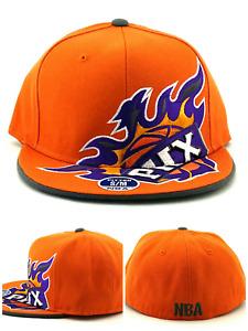 Phoenix Suns New NBA Elements PHX Rising Orange Gray Purple Fitted Era Hat Cap