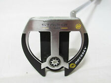 """Used RH Odyssey Stroke Lab 2-Ball Fang 34"""" Putter With Headcover"""