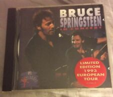 Bruce Springsteen: Live In Concert CD Limited Edition '93 Euro Tour