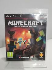 Minecraft PS3 Sony PlayStation 3 Fast Free Post Birthday Christmas Gift