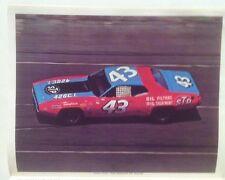 "Richard Petty 1972 Talledega STP Plymouth Reprint 8.5x11"" Photo"