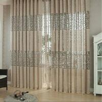 Modern Room Tulle Door Window Curtain Balcony Drape Panel Sheer Scarfs Valances