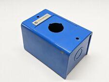 Allen Bradley 800h 1hz Blue Painted Steel Electrical Enclosure 4 12x3x3
