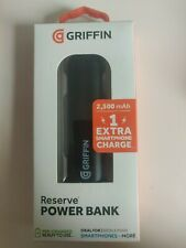 GENUINE Griffin Reserve Portable Power Bank 2500 mAh - BLACK