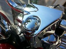 FORK LOCK COVER FOR HARLEY ROAD KING WATERPROOF! SMOOTH DOMED COVER