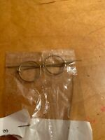 "vintage Doll Wire Glasses 1-3/4"" DH"
