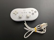 Official OEM White Nintendo Wii Classic Controller Good condition
