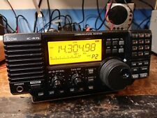 Icom IC-R75 HF+50 MHz Communcations Receiver in Orig. Box w/ All Accessories