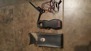AMPROBE VINTAGE CLAMP-ON METER WITH 2 PROBE LEADS AND CASE
