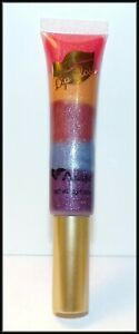 """NEW """"AMUSE"""" 5 IN 1 COLOR RAINBOW SHIMMERING LIP GLOSS ~ FREE SHIP ~ FREE GIFT"""