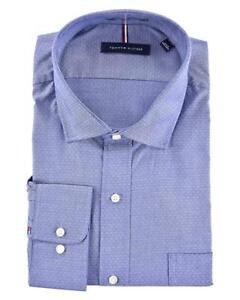 Tommy Hilfiger Stretch Regular Fit Dress Shirt - Size: Medium    -        R-4