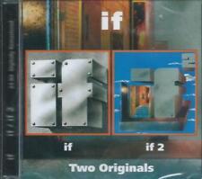 IF - 1 + 2 UK 1970 PROGRESSIVE JAZZ ROCK pre ZZEBRA DAVE QUINCY REMAST SEALED CD