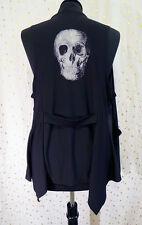 h.NAOTO Naoto Seven Trapeze Skull Vest Goth Gothic VK Punk Jrock Minimal