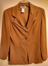 Juniors DBY 2pc Camel Color Jacket & Skirt Set Size 9