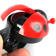 Lovely Kid Beetle Ladybug Ring Bell For Cycling Bicycle Bike Ride Horn Alarm 1Pc