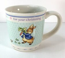 Wedgwood Peter Rabbit Christening Cup Beatrix Potter