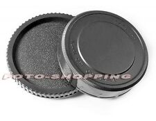 KIT TAPPO CORPO RETROBIETTIVO PER PENTAX 6X7 67 BODY CAP REAR CAP CAMERA LENS