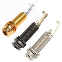 3 Pcs Different Color Threaded Cylinder Guitar Bass End Pin Output Jack 1/4