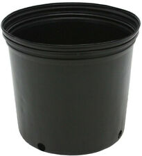 NURSERY POTS 3 GALLON Outdoor Vegetable Flower Plant Plastic Pot Garden 10 PACK