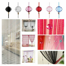 Luxury curtains beads window String Tassel Beads Curtain bead curtain 2*1m USA
