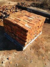 Reclaimed Bricks 1890's 1900's , North Carolina Handmade, solid