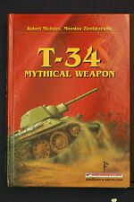 T-34 Mythical Weapon by Michulec + Zientarzewski HB 1st Edition Air Connection