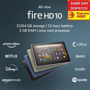 """2021 AMAZON FIRE HD 10 WiFi TABLET 10.1"""" 32G 1080p 11th Gen LATEST MODEL HD10"""