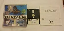 HOSTAGES pc computer game AMSTRAD 6128 PLUS cpc disk rare Vintage INFOGRAMES