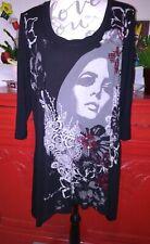 Jolie Tunique Femme de Marque MS MODE Taille XL ( 44/46 ) en Tbe