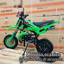MINICROSS BENZINA per bambini 50cc  Minimoto Mini Cross Moto Cross bimbi quad