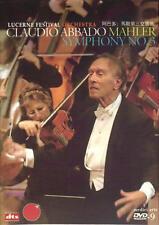 Mahler Symphony No. 3 / Lucerne Festival Orchestra/Claudio Abbado 2008 DVD-9