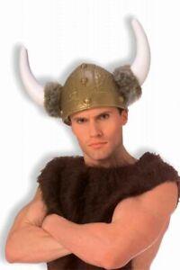 Mens Adult Super Deluxe Viking Rapper Flava Flav Costume Helmet
