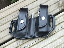 Leather Sheath to fit Leatherman Charge/Wave, 2 bit slides and extension bar.
