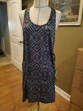 SmartWool Women's Basic Merino 150 Pattern Dress - Black NWT $90 Sz XL